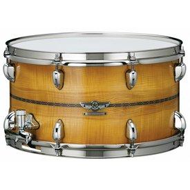 "TAMA Tama TMBS158SOCOB Star Snare Reserve 8"" x 15"" Maple/Bubinga Snare Drum OCOB Caramel Olive Ash Burst"