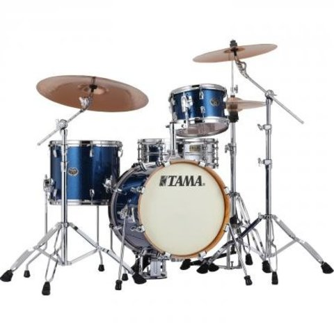 Tama VD36MWSISP Silverstar Drum Kit Indigo Sparkle