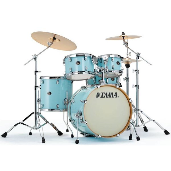 TAMA Tama VP52KRSLBL Silverstar Drum Kit Light Blue Lacquer
