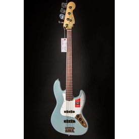 Fender American Pro Jazz Bass Fretless, Rosewood Fingerboard, Sonic Gray