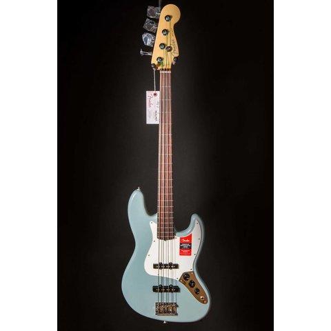 American Pro Jazz Bass Fretless, Rosewood Fingerboard, Sonic Gray