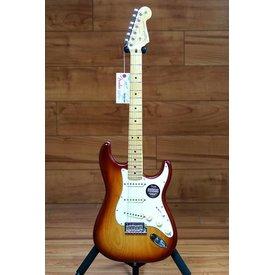 Fender American Standard Stratocaster, Maple Fingerboard, Sienna Sunburst (Ash)