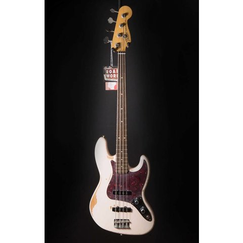 Flea Jazz Bass, Rosewood Fingerboard, Roadworn Shell Pink