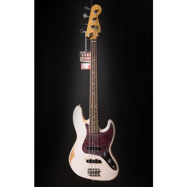 Fender Flea Jazz Bass, Rosewood Fingerboard, Roadworn Shell Pink