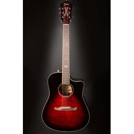 Fender T-Bucket 300-CE, Rosewood Fingerboard, Trans Cherry Burst