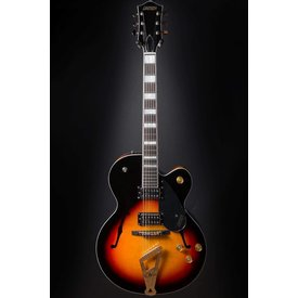 Gretsch Guitars Gretsch G2420 Streamliner Hollow Body Broad'Tron Pickups, Aged Brooklyn Burst