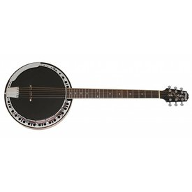 Epiphone Epiphone EFB6MRCH1 Stagebird 6-String Electric Banjo Red Brown Mahogany