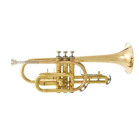 Bach CR301H5B Student Cornet w/ 7C Mouthpiece, Standard Finish