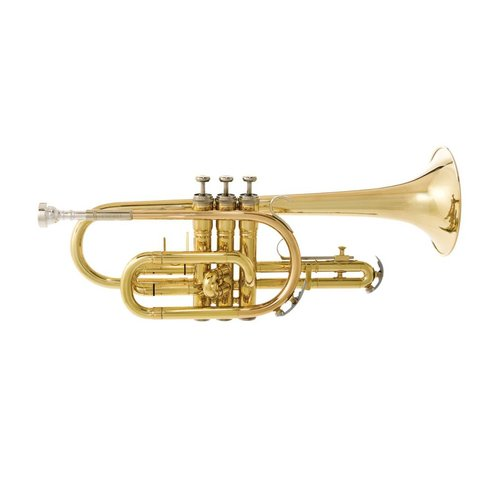 Bach CR301H5B Student Cornet w/ 5B Mouthpiece, Standard Finish