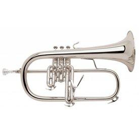 Bach Bach 183S Stradivarius Professional Bb Flugelhorn, Silver Plated
