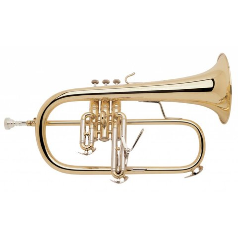 Bach 183 Stradivarius Professional Bb Flugelhorn, Standard Finish