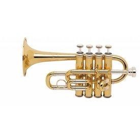 Bach Bach 196 Stradivarius Professional A/Bb Piccolo Trumpet, Standard Finish