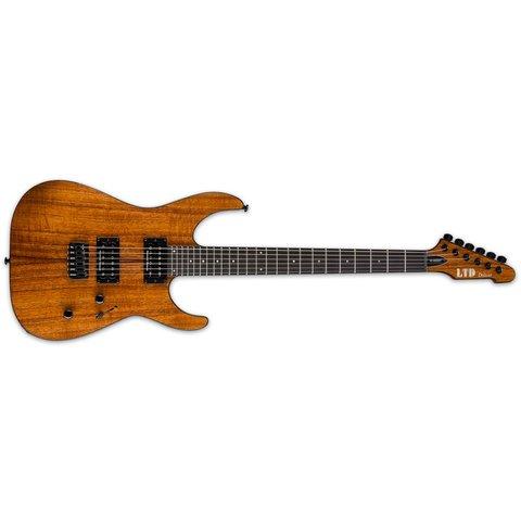 ESP LTD LM1000HTKNAT M-1000 Electric Guitar Natural Koa