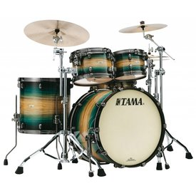 TAMA Tama Starclassic  Maple Exotix 22''Bd 5Pc Shell Kit Emerald Pacific Walnut Burst