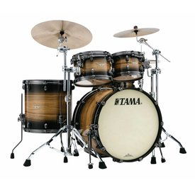 TAMA Tama Starclassic Maple Exotix 22''Bd 5Pc Shell Kit Natural Pacific Walnut Burst