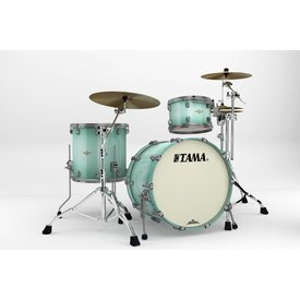 TAMA Tama Starclassic Bubinga 3Pc Shell Kit Smoked Nickel Hardware Light Jade Burst