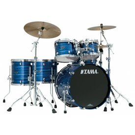 TAMA Tama Starclassic Performer B/B 5Pc Shell Kit In Lacquer Ocean Blue Ripple Finish