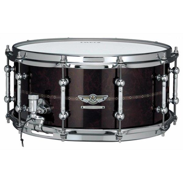 "TAMA Tama Star Snare Reserve Bubinga/Walnut 6.5X14"" Snare Drum"