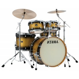 TAMA Tama Silverstar 5Pc Shell Kit In Vintage Gold Duco Finish