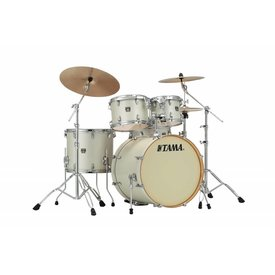 TAMA Tama Superstar Classic 5Pc Shell Kit In Satin Arctic Pearl White Finish