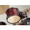 Tama Imperialstar 5Pc Complete Kit Meinl HCS Cymbals Vintage Red Black Hardware