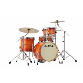 TAMA Tama Superstar Classic 18'' Bd 4Pc Shell Kit In Tangerine Lacquer Burst Finish