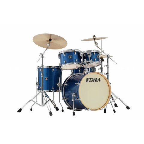 "Tama Superstar Classic 20"" Bd 5Pc Shell Kit In Indigo Sparkle Finish"