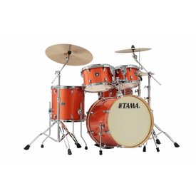 "TAMA Tama Superstar Classic 20"" Bd 5Pc Shell Kit In Bright Orange Sparkle Finish"