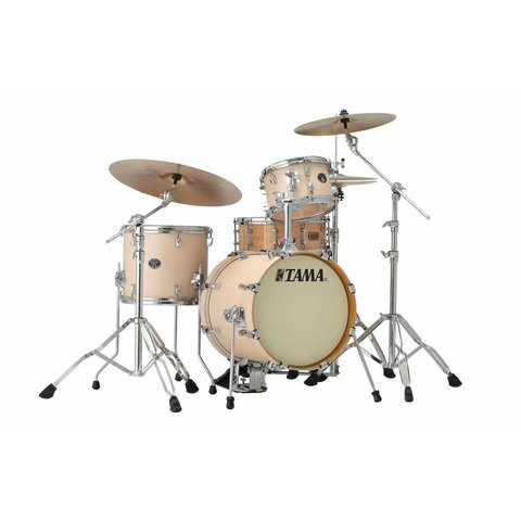 "Tama Silverstar 16"" Bd 3Pc Metro-Jam Shell Kit In Matte Copper Sparkle Finish"
