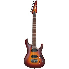 Ibanez Ibanez S6527SKFXSTB S Prestige 7str Electric Guitar w/Case - Sunset Burst