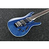 Ibanez S6570QNBL S Prestige 6str Electric Guitar w/Case - Natural Blue