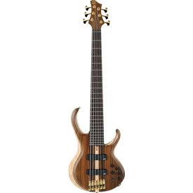 Ibanez Ibanez BTB1806ENTL BTB Premium 6str Electric Bass - Natural Low Gloss