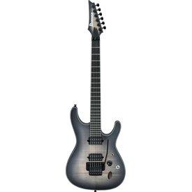 Ibanez Ibanez SIX6DFMDCB S Iron Label 6str Electric Guitar - Dark Space Burst