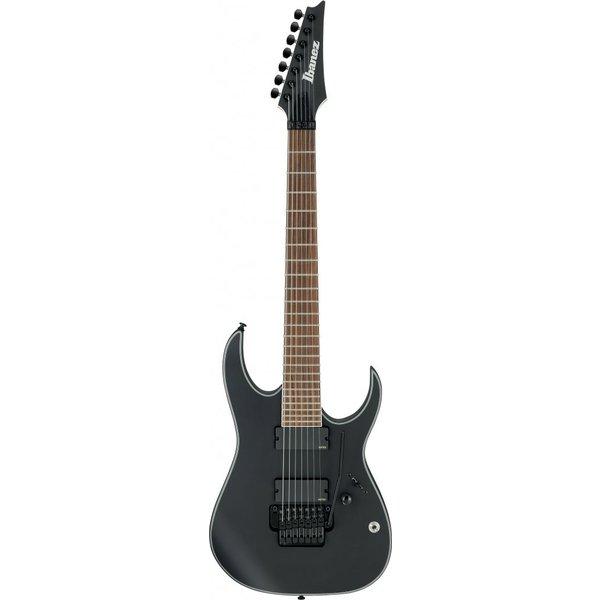 Ibanez Ibanez RGIR37BEBKF RG Iron Label 7str Electric Guitar - Black Flat