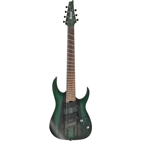 Ibanez RGIM7BCDFF RG Iron Label Multi-Scale Electric Guitar Deep Forest Burst