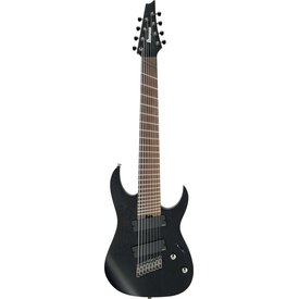 Ibanez Ibanez RGIM8MHWK RG Iron Label Multi-Scale 8str Electric Guitar Weathered Black