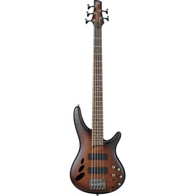 Ibanez Ibanez SR30TH5NNF SR Standard 5str Electric Bass - Natural Browned Burst Flat