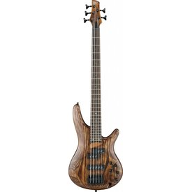 Ibanez Ibanez SR655ABS SR Standard 5str Electric Bass - Antique Brown Stained