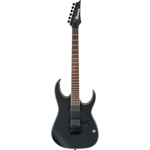 Ibanez RGIR30BFEBKF RG Iron Label 6str Electric Guitar - Black Flat
