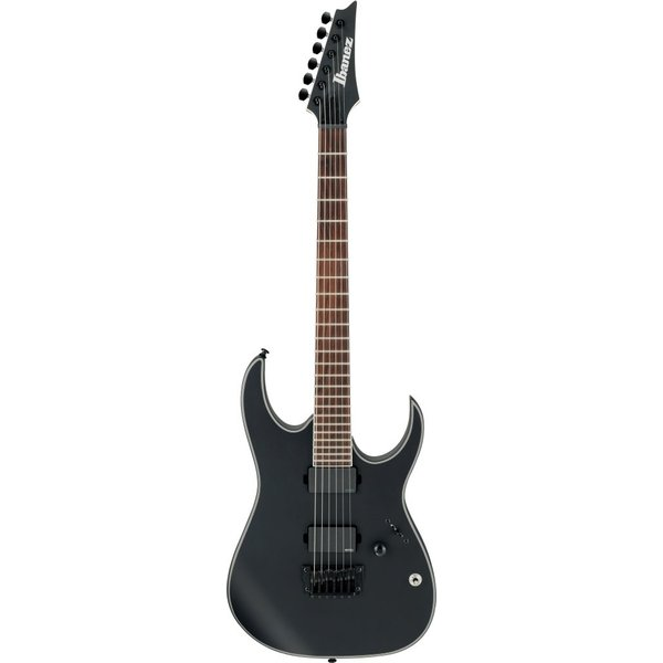 Ibanez Ibanez RGIR30BFEBKF RG Iron Label 6str Electric Guitar - Black Flat