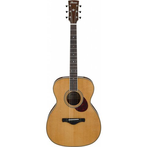 Ibanez AVM10NT Artwood Vintage Thermo Aged OM Acoustic Guitar - Natural Gloss