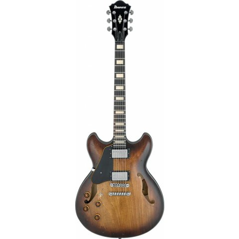 Ibanez ASV10ALTCL ASV Artcore Vintage Electric Guitar Left Handed Tobacco Burst