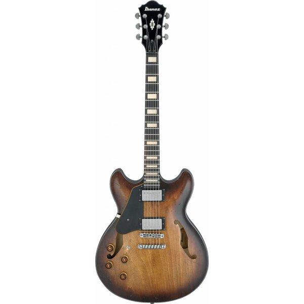 Ibanez Ibanez ASV10ALTCL ASV Artcore Vintage Electric Guitar Left Handed Tobacco Burst