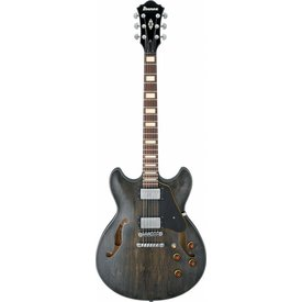 Ibanez Ibanez ASV10ATKL ASV Artcore Vintage Electric Guitar Transparent Black Low Gloss