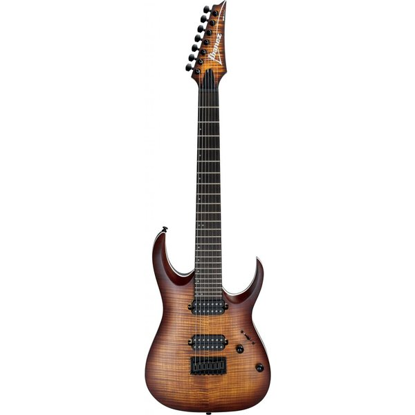 Ibanez Ibanez RGA742FMDEF RGA Standard 7str Electric Guitar - Dragon Eye Burst Flat