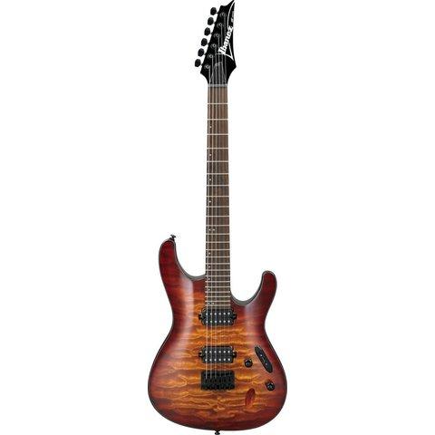Ibanez S621QMDEB S Standard 6str Electric Guitar - Dragon Eye Burst
