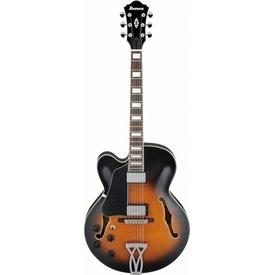 Ibanez Ibanez AF75LVSB AF Artcore 6str Electric Guitar - Left Handed - Vintage Sunburst