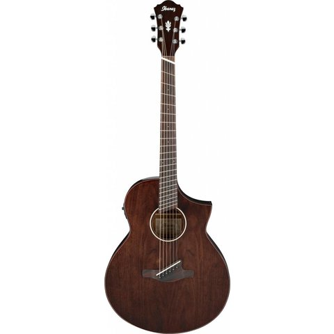 Ibanez AEW40FFCDNT AEW Multi Scale Acoustic Electric Guitar - Natural Gloss