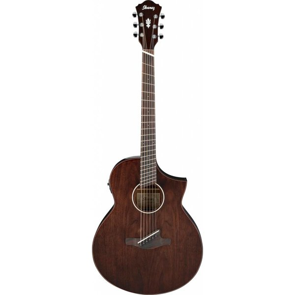 Ibanez Ibanez AEW40FFCDNT AEW Multi Scale Acoustic Electric Guitar - Natural Gloss