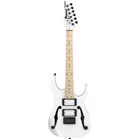 "Ibanez Ibanez PGMM31WH Paul Gilbert Signature 6str Electric Guitar (22.2"" scale) White"